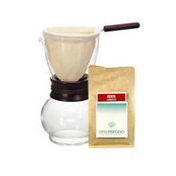 Dripper Hario Woodneck i kawa Coffee Proficiency