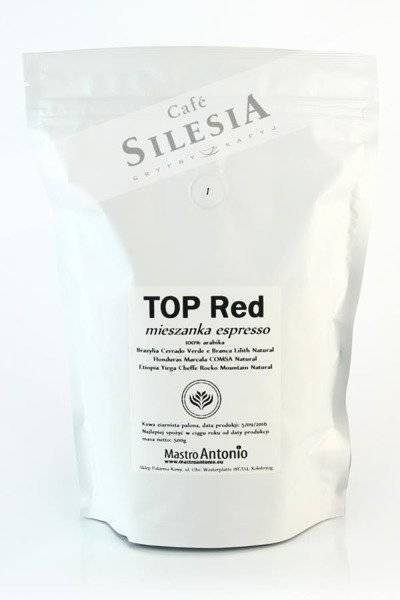 kawa Mastro Antonio RED TOP 500g ziarnista